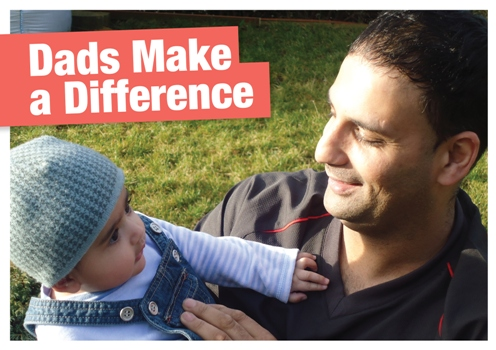 Dads Make a Difference Cover Being A Better Dad