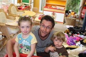 Fathers' Story Week at Grandpont Children's Centre