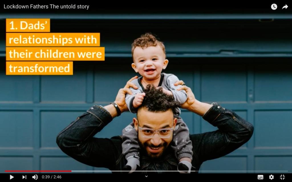 FI Lockdown Fathers report image